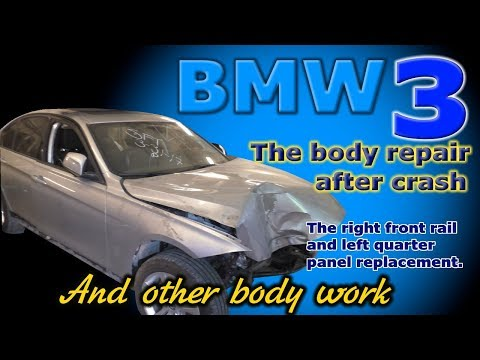 Timelapse Of Crashed BMW 3 Series Getting Fixed Is Worth Watching
