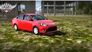 Mod Toyota Yaris 2020 Bussid mod Indonesia new bus simulator