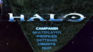 Halo: Combat Evolved - Title Screen
