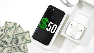 $50 IPhone 7 Clone Unboxing - Jet Black!