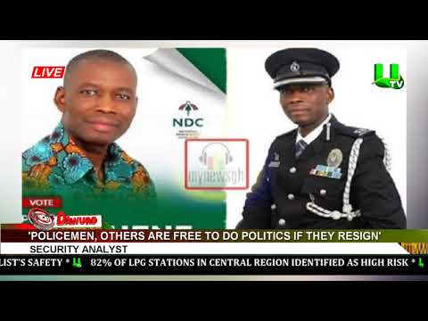 Policemen, others are free to do politics if they resign – Security analyst