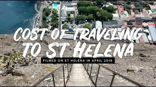 Cost of traveling to St Helena Island