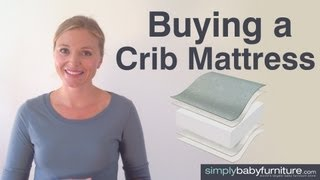 Nursery Ideas - Finding The Best Crib Mattress For Your Baby - Baby Mattress Buying Guide