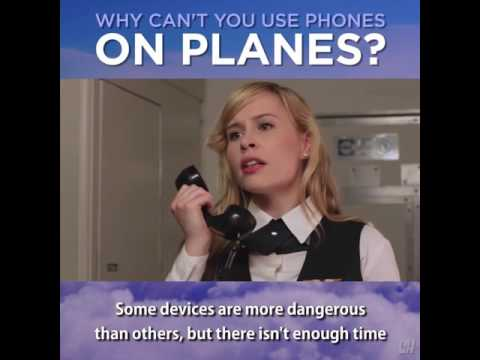 Why can't you use phones on plane?