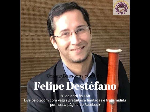 Live com o professor Felipe Destéfano