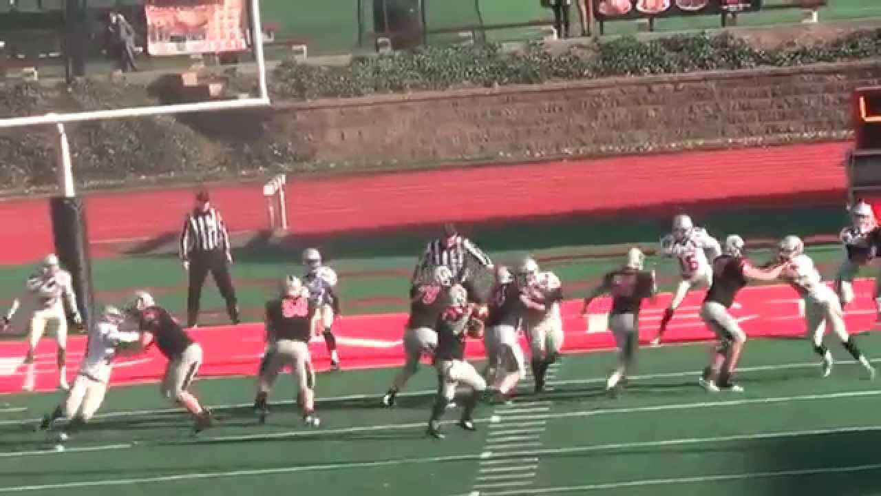 2014 Carnegie Mellon Football Season Highlights - YouTube