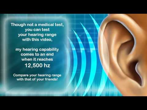 hearing range of humans