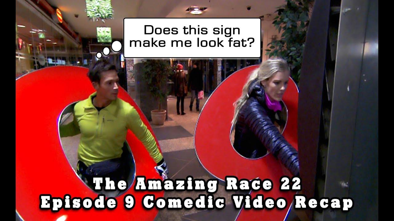The amazing race 22 episode 9 comedic video recap mashup youtube
