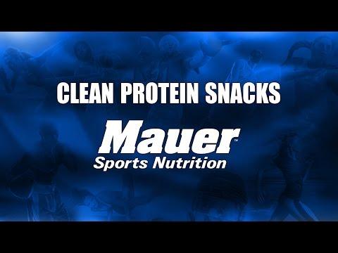 Protein Snacks - Mauer Sports Nutrition!