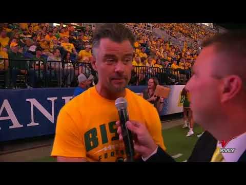 Sports Josh Duhamel on Bison Football Atmosphere