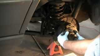 jeep grand cherokee wj axle seal replacement