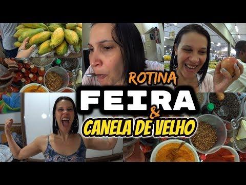 ROTINA, ESCONDIDINHO, FEIRA E CANELA DE VELHO/ VIDA REAL