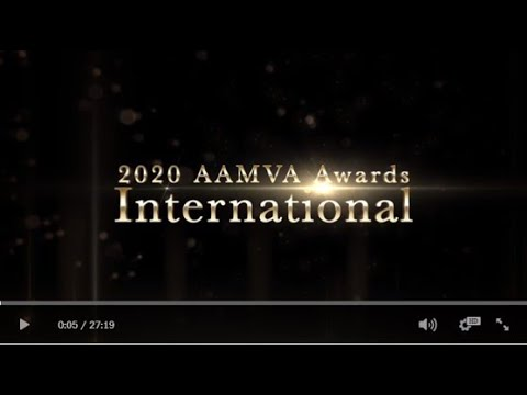 2020 AAMVA Awards - International