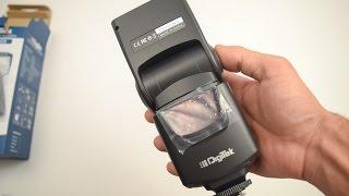 Digitek Flash Speedlite DFL 003 Unboxing and Hands On Overview