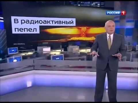 Russian journalist Dmitry Kiselev threatens to incinerate America