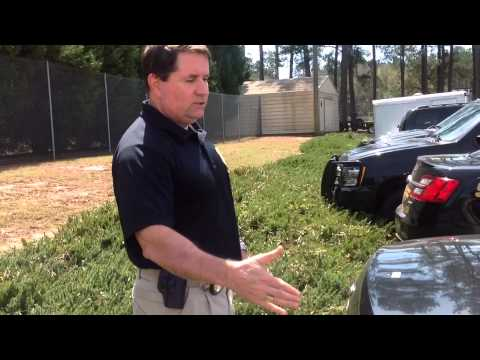 GBI agent shows bullet-riddled Crawford County sheriff's vehicles