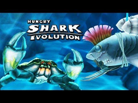 Hungry shark evolution megalodon vs giant crab - photo#33