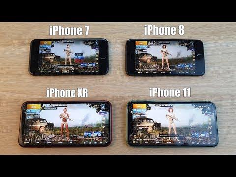 ТЕСТ PUBG НА АЙФОНАХ! IPhone 7, 8, XR, 11