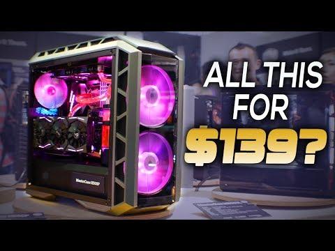 The $139 Coolermaster HAF H500P | $79 PBT Keycap Mech Keyboard & More | Coolermaster Computex 2017