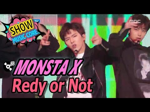 [Comeback Stage] MONSTA X(몬스타엑스) - Ready Or Not, Show Music Core 20170325