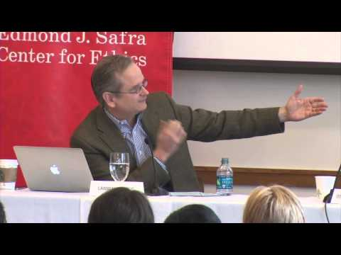 Ending Institutional Corruption | What is Institutional Corruption?: Lessig in the Dock
