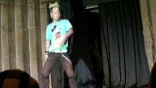 2009./3.12 pepper seed@i to i  BAD JUSTICE  SHOWCASE!!!!(Japanese Reggae Dancer)