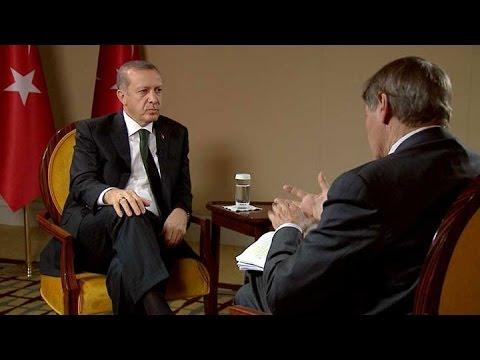 Recep Tayyip Erdoğan & Charlie Rose Özel Röportajı Full (Eylül 2014)