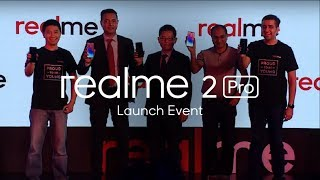 Watch Realme 2 Pro launch event