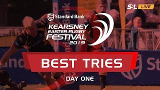 KERF 2019: Best Tries from Day 1 of the Kearsney Easter Rugby Festival