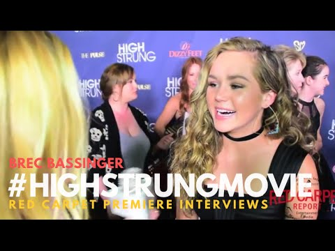 "Brec Bassinger #BellaAndtheBulldogs at the Red Carpet Premiere for ""High Strung"" #‎HighStrungMovie"