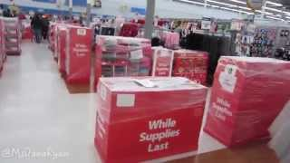 Black Friday Shopping Walmart 2014