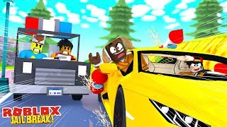 CRAZY ROCKET FUEL FLYING CARS JAILBREAK UPDATE - Roblox gaming adventures