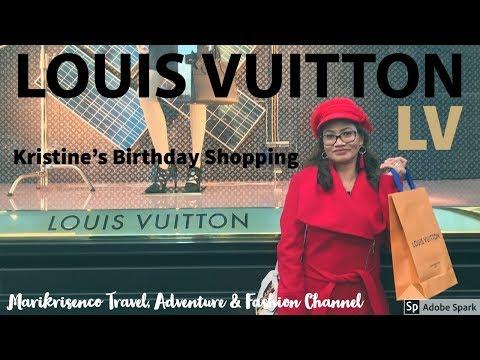 Louis Vuitton Shopping spree