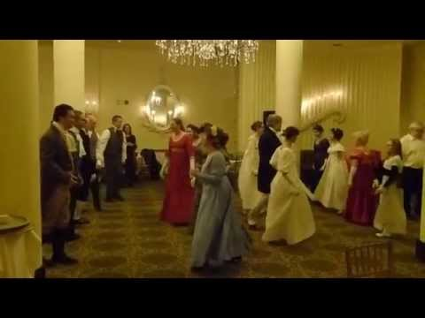 English Country Dancing at JASNA Pittsburgh's Jane Austen Festival 2015