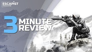 Sniper Ghost Warrior Contracts | Review in 3 Minutes (Video Game Video Review)