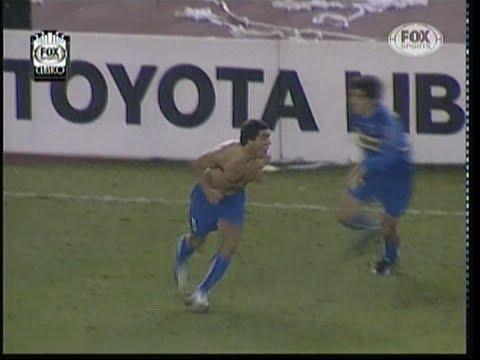 River 2 (4) Boca 1 (5) Copa Libertadores 2004 Semifinal Vuelta Resumen completo de Fox Sport Clásico