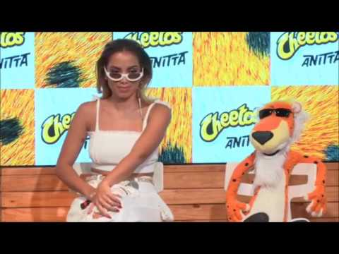 Coletiva de imprensa: Cheetos com Anitta