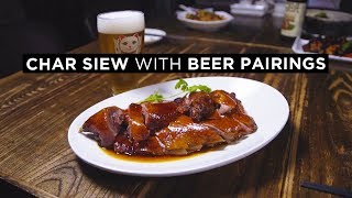 Michelin Recommended Char Siew With Craft Beer Pairings In Singapore: Char