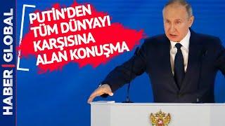 ABD'si, AB'si NATO'su, Kısaca Hepsi! Putin'den Sert Açıklama!