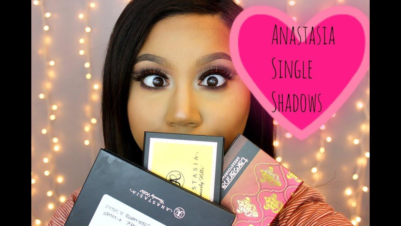 New Anastasia Beverly Hills Single Shadows 101 Katie Danger Youtube Lip Cream Amalia Matte Morocco Nude 03