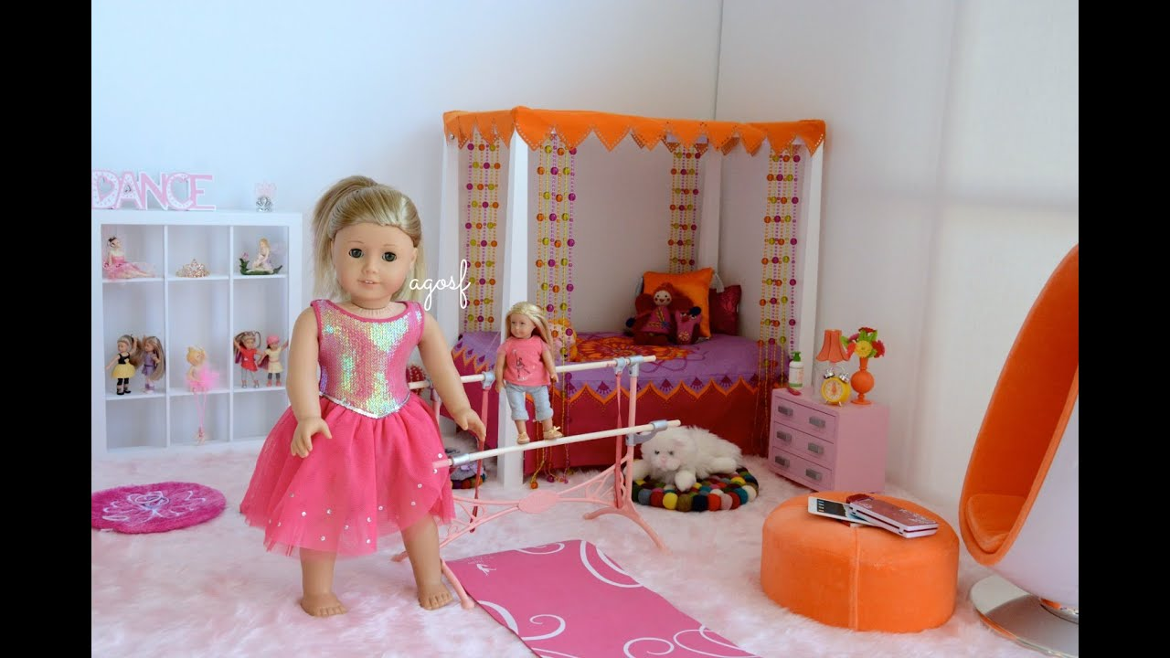 American Girl Doll Isabelle Bedroom   YouTube