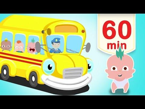 Barnsånger på Svenska | Hjulen på bussen med mera | 60 min