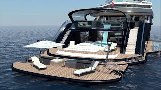 DIAMOND 70 SUPERYACHT DESIGN PROJECT.flv