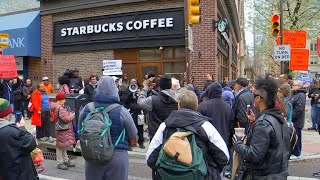Starbucks responds after outrage over black men's arrest