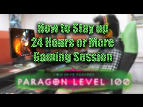 How to Stay up During Your Next Gaming Marathon [24 hours plus]