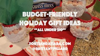 Inexpensive Christmas Gift Ideas - Under $10 Thumbnail