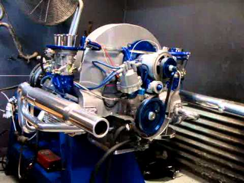 Douglas L 1914cc Dune Buggy Engine Making 128 Hp On Dyno