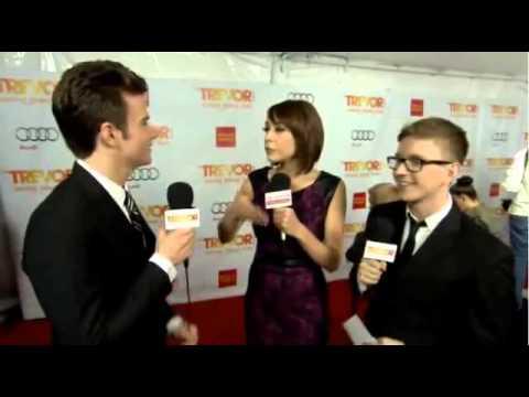 Chris Colfer Interview (Trevor Live 2012)