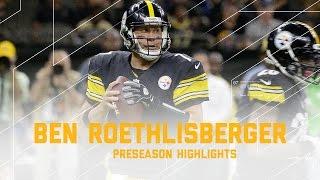 Ben Roethlisberger Highlights   Steelers vs. Saints   NFL