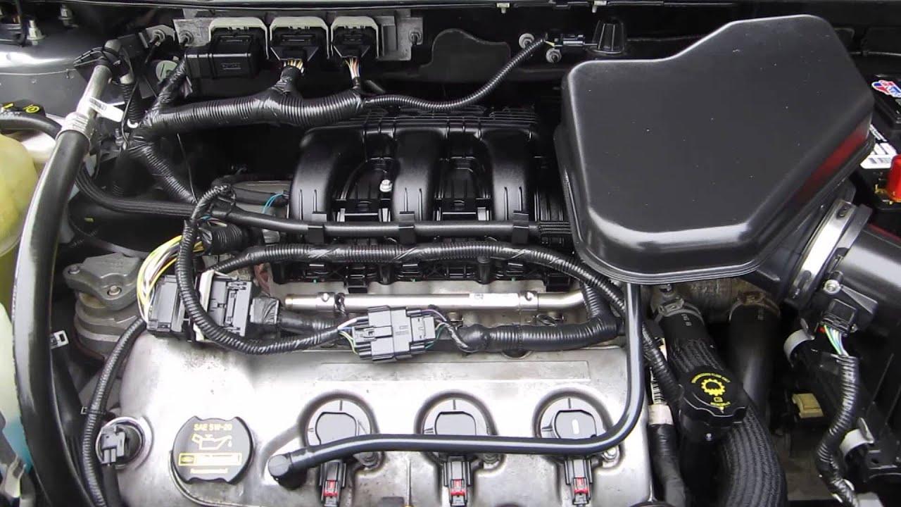 Ford Edge Gray Stock J Engine